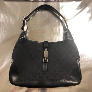 Designer Gucci Black Handbag Purse